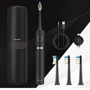 sonic whitening electric toothbrush